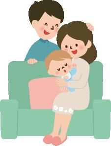 出産前後の方のイメージ